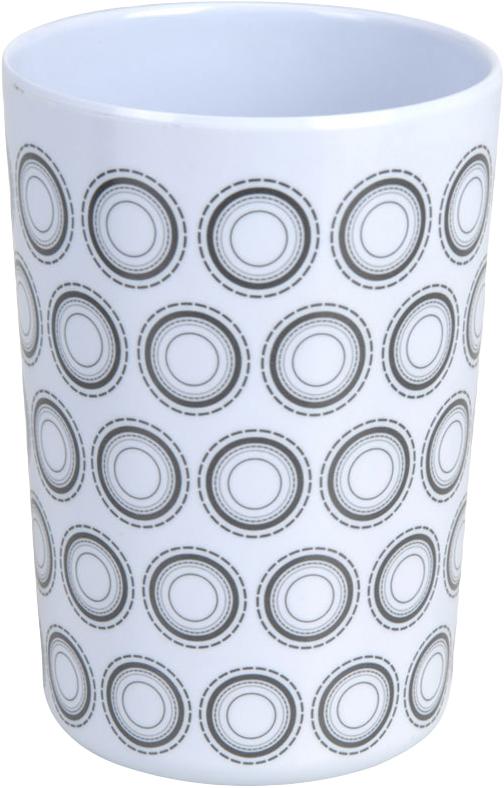 Kelímek retro černobílý vzor Provedení: E
