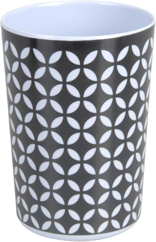 Kelímek retro černobílý vzor Provedení: B
