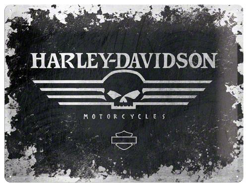 Nostalgic Art Plechová cedule Harley Davidson Motocycles II 30x40cm Rozměry: 30x40cm