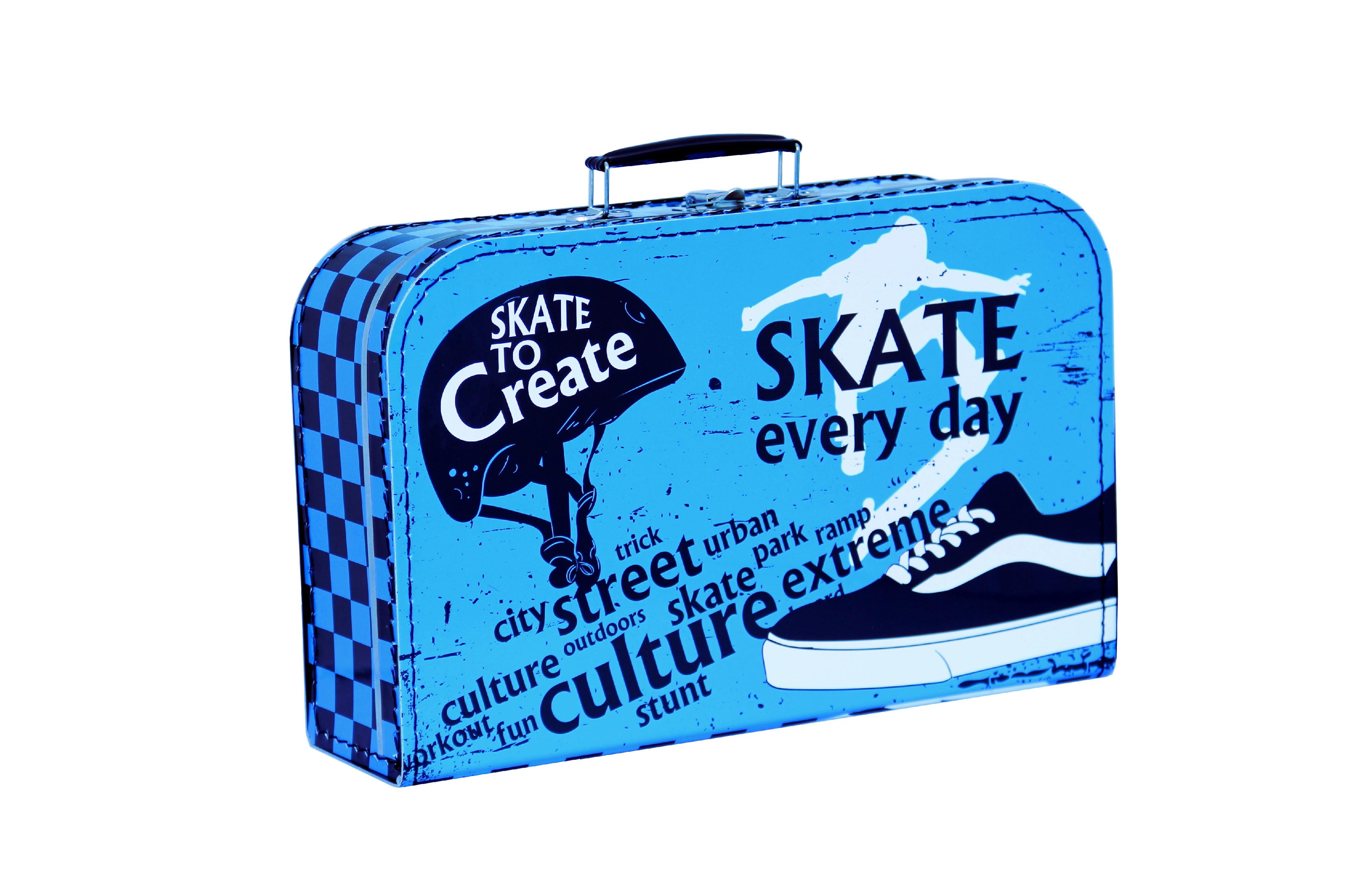 Kazeto Kufřík   dětský   skate   35x23x11cm