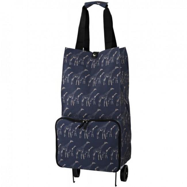 Ulster Weavers Nákupní taška na kolečkách giraffes 28x54x20,5cm