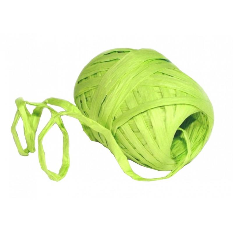 Stuha vázací papírová 30m Barva: světle zelená
