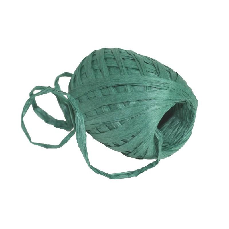 Stuha vázací papírová 30m Barva: tmavě zelená