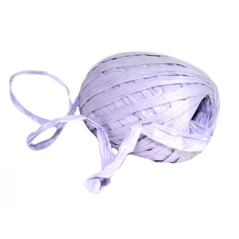 Stuha vázací papírová 30m Barva: fialová