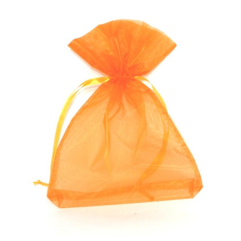 Ambiente Sáček dárkový organza oranžový 20x28cm