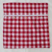 Povlak na polštář 45x45 kostičkovaný