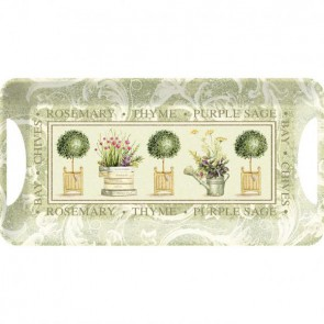 Creative Tops Servírovací tác Topiary Rozměry: 38x20cm