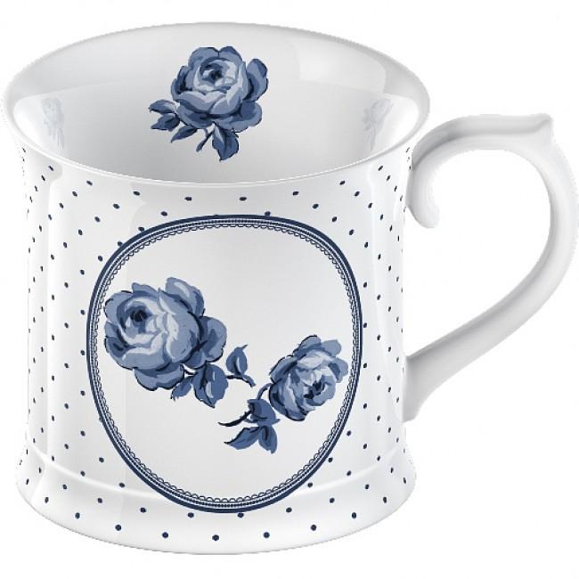 Creative Tops Hrnek SPOT | porcelán | bílý | 9x13x10cm