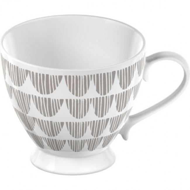 Creative Tops Hrnek TAUPE BUNTING   porcelán   11cm   300ml