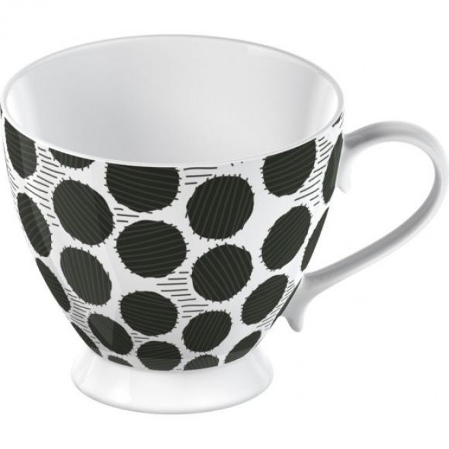 Creative Tops Hrnek BLACK SPOT   porcelán   11x11x10cm   300ml