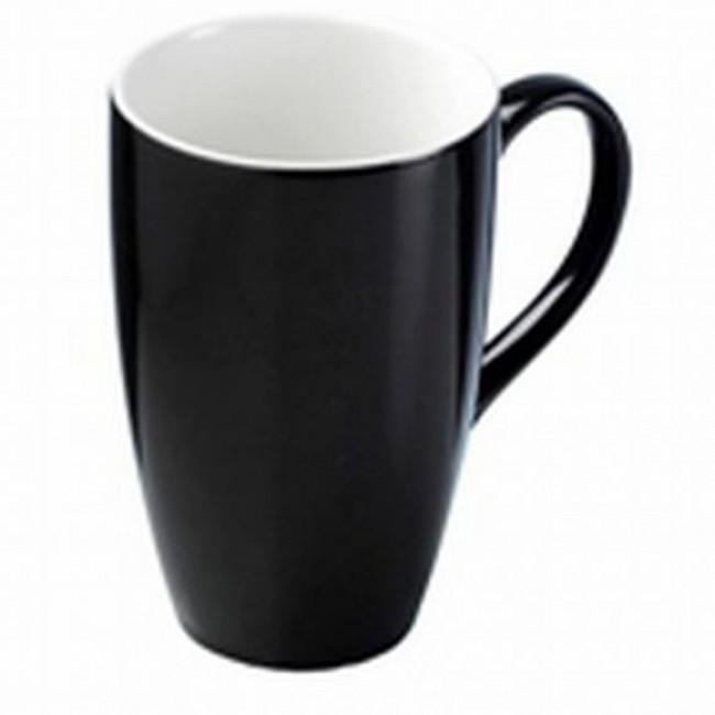 Creative Tops Hrnek na latté černý keramika 400ml