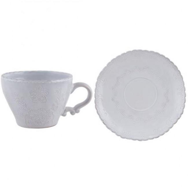 Creative Tops Šálek s podšálkem Hush keramika