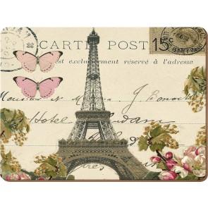 Creative Tops Korkové prostírání Paris Postcard Rozměry: 29x40cm - 2ks