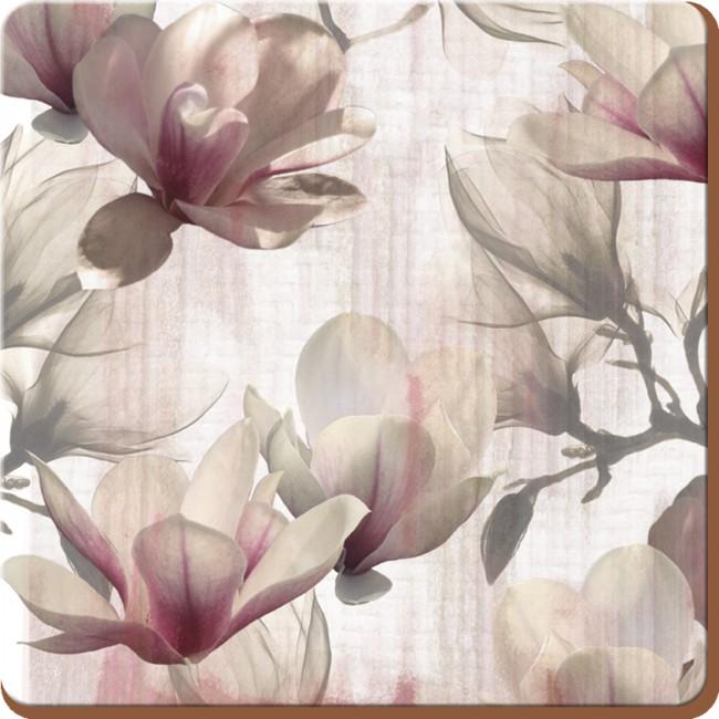Creative Tops Korkové prostírání Magnolia Rozměry: 10x10cm - 4ks