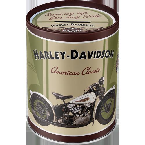Nostalgic Art Kasička Harley Davidson