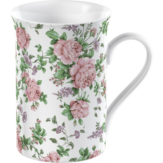Creative Tops Hrnek porcelánový Pink Ditsy 235 ml 9x12x9cm