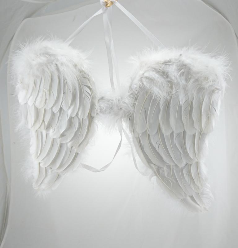 Kolouch Import Andělská křídla peří 41x41cm 94142b629c