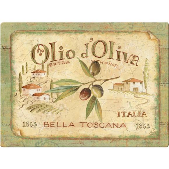 Creative Tops Skleněné prkénko Olio d'Oliva Rozměry: 41x31cm
