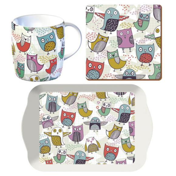 Creative Tops Snídaňový set Retro Owl
