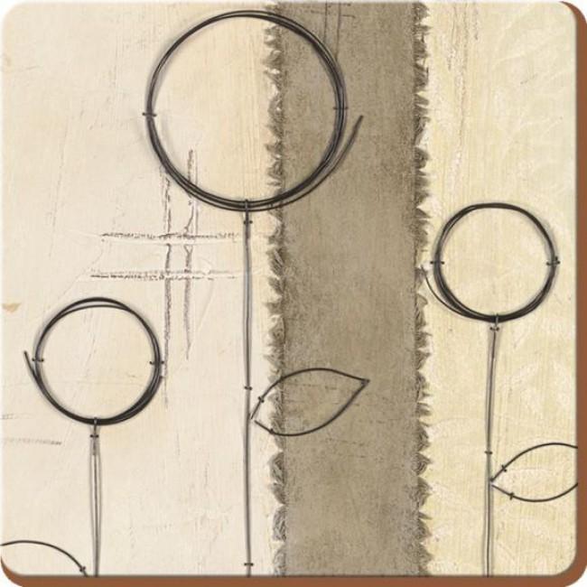 Creative Tops Korkové prostírání Natural Simplicity Rozměry: 10x10cm - 6ks
