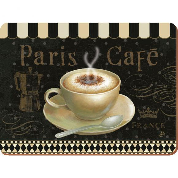 Creative Tops Korkové prostírání Paris Café Rozměry: 21x29cm - 6ks