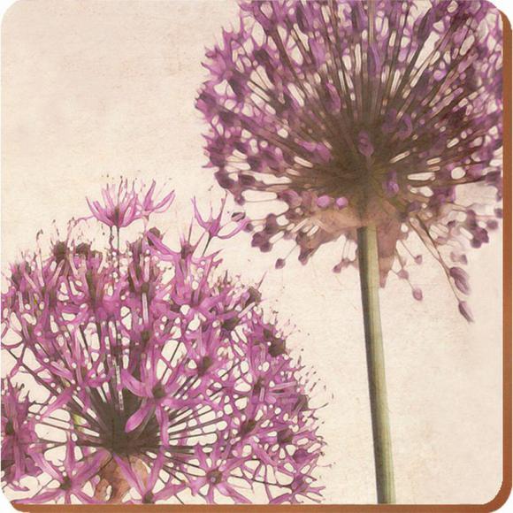 Creative Tops Korkové prostírání Purple Allium Rozměry: 29x40cm - 4ks