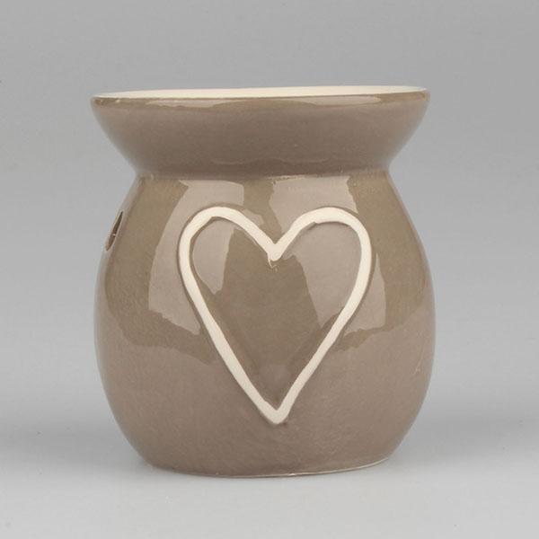 Casa de Engel Aroma lampa srdce 10cm Barva: šedá