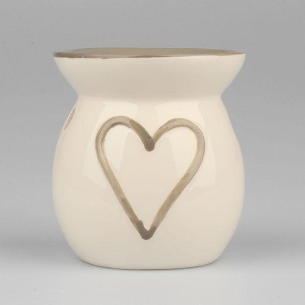 Casa de Engel Aroma lampa srdce 10cm Barva: bílá