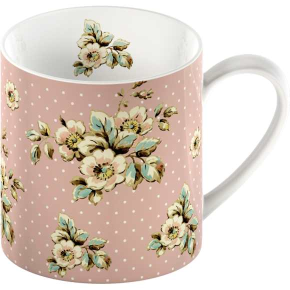 Creative Tops Hrnek Pink Cottage Flower 0,3l