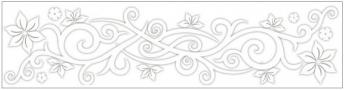 Anděl Přerov Okenní fólie pruh s ornamenty 64x15cm Provedení: A