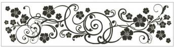 Anděl Přerov Okenní fólie pruh s ornamenty 64x15cm Provedení: C
