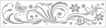 Anděl Přerov Okenní fólie pruh s ornamenty 64x15cm Provedení: D