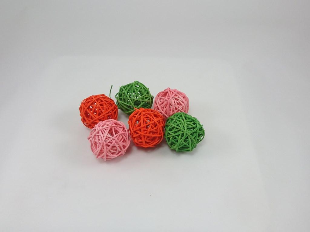 Aranžovací koule 5cm Barva: růžová