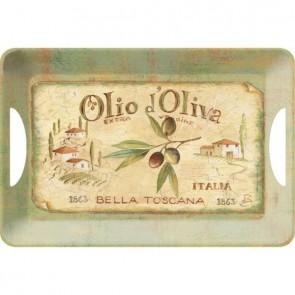 Creative Tops Servírovací tác Olio d´Oliva Rozměry: 47x33cm