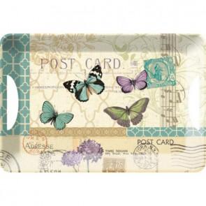 Creative Tops Servírovací tác POST CARD Rozměry: 47x33cm