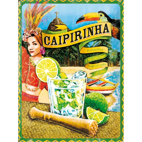 Nostalgic Art Plechová cedule Caipirinha Rozměry: 30x40cm