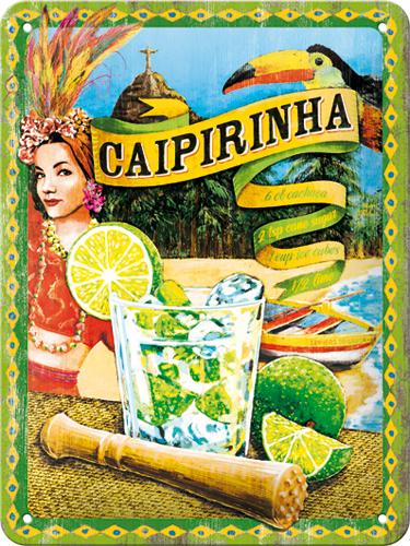 Nostalgic Art Plechová cedule Caipirinha Rozměry: 15x20cm
