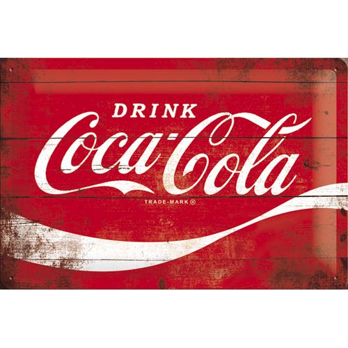 Nostalgic Art Plechová cedule Coca Cola Refresh Rozměry: 15x20cm