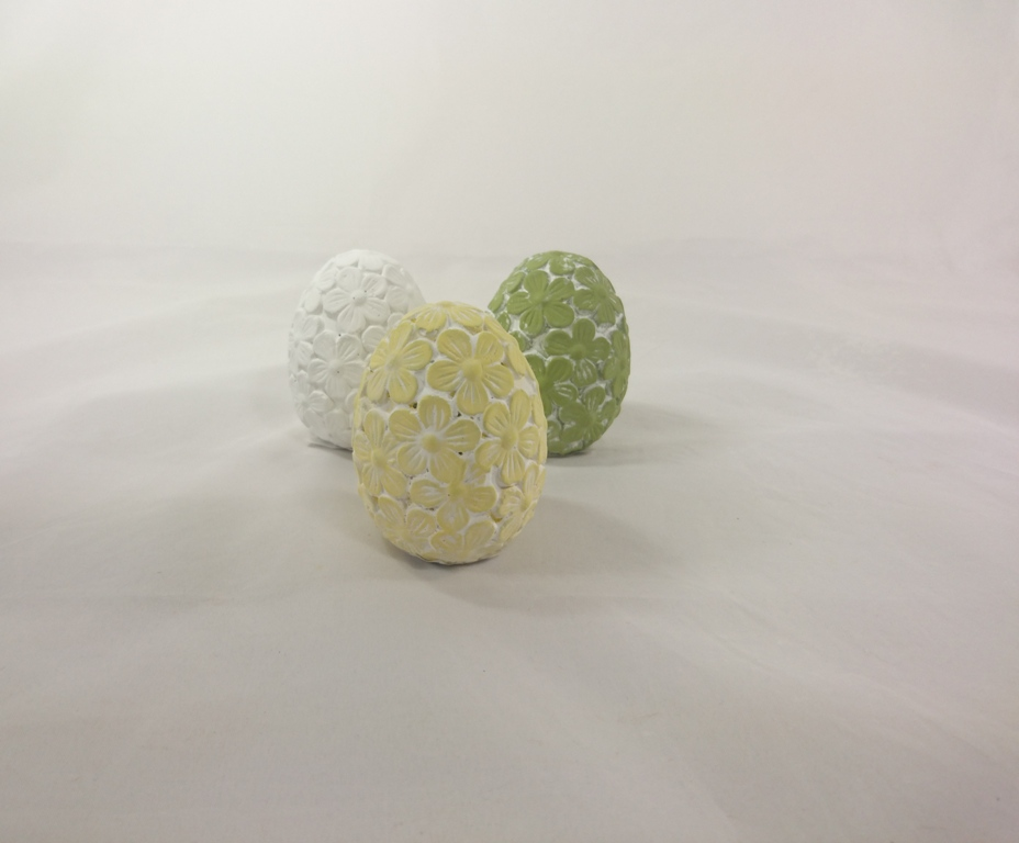 Casa de Engel Keramické vejce 8cm Barva: žlutá