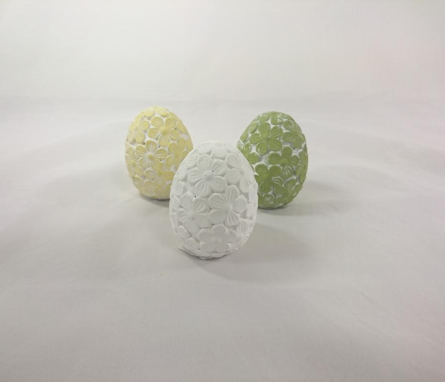 Casa de Engel Keramické vejce 8cm Barva: bílá