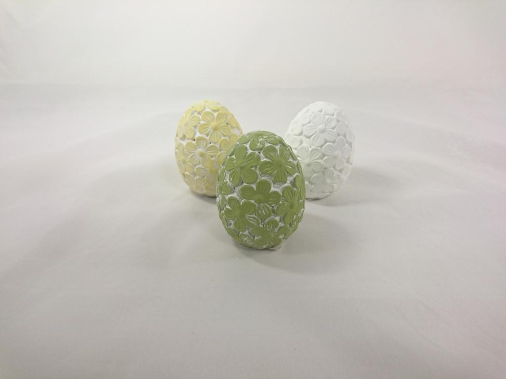 Casa de Engel Keramické vejce 8cm Barva: zelená