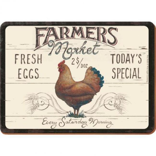 Creative Tops Korkové prostírání Farmers Market Rozměry: 21x29cm - 6ks