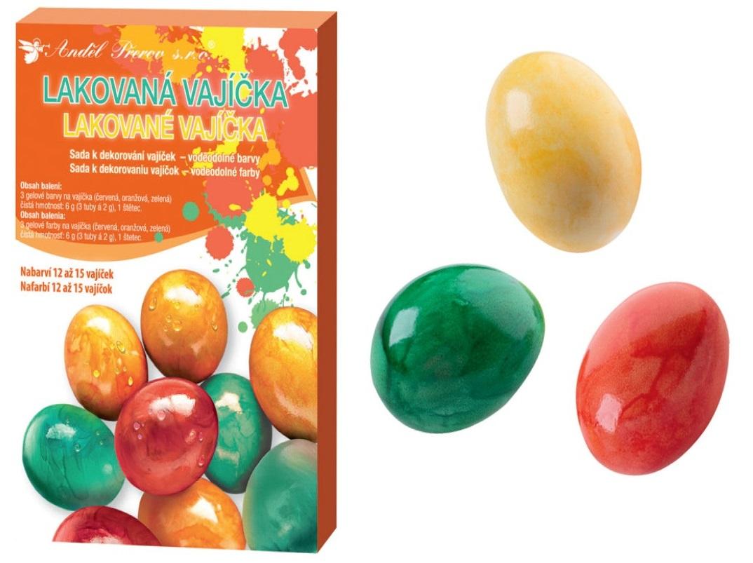 Anděl Přerov Sada k dekorování vajíček lakovaná vajíčka