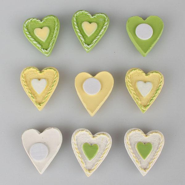 Casa de Engel Sada kolíčků SRDCE 12ks S motivem: srdce