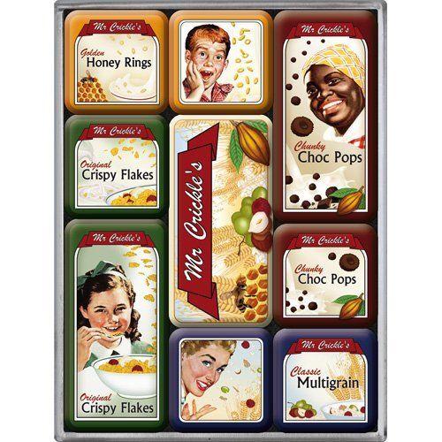 Nostalgic Art Magnetky na ledničku Mr. Crickle