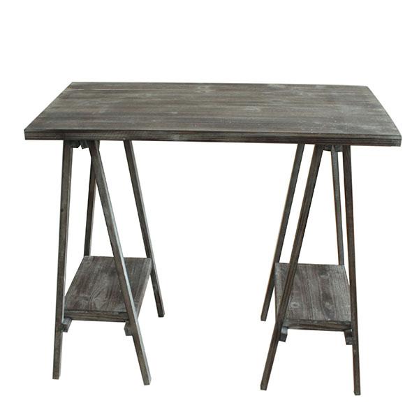 Casa de Engel Dřevěný stůl na květiny 80×42×70 cm Barva: tmavá
