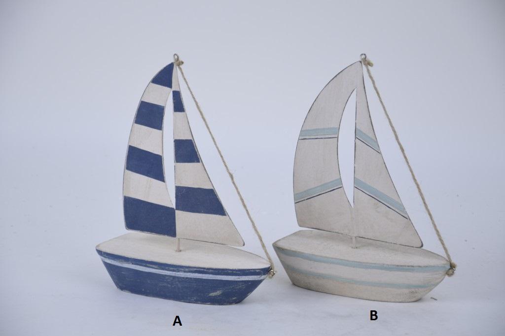 Dekorativní plachetnice ze dřeva Provedení: A