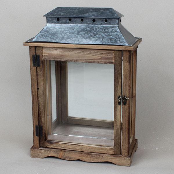 b01eed8a522 Casa de Engel Dřevěná lucerna na zeď