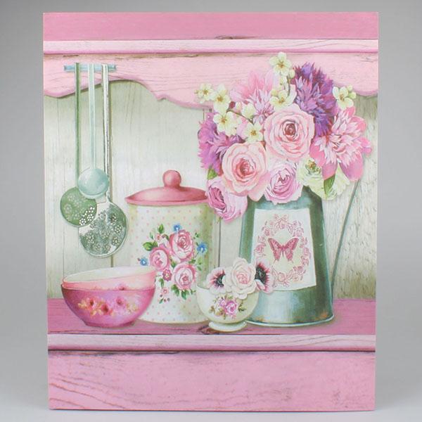 Casa de Engel Obraz na plátně Růže v kuchyni 46x56cm