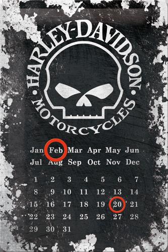 Nostalgic Art Plechová cedule Harley Davidson Motorcycles patina Rozměry: 20x30cm